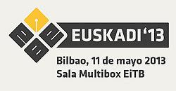 EBEuskadi 2013 Evento Blog Euskadi