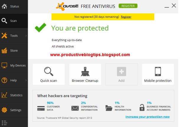 Avast Free Antivirus latest Version