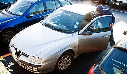 Agar Mobil Tidak Dicuri
