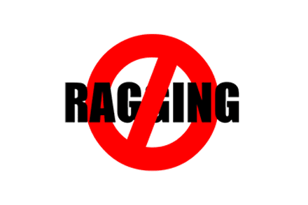 Ragging is strictly prohibited