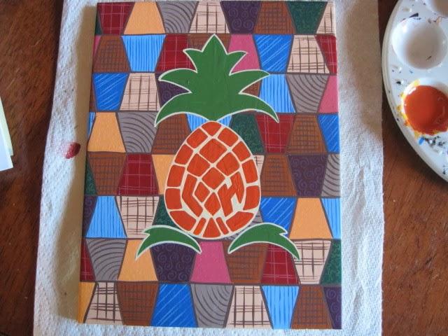 Hand Painted Ceramic Blog Tiles