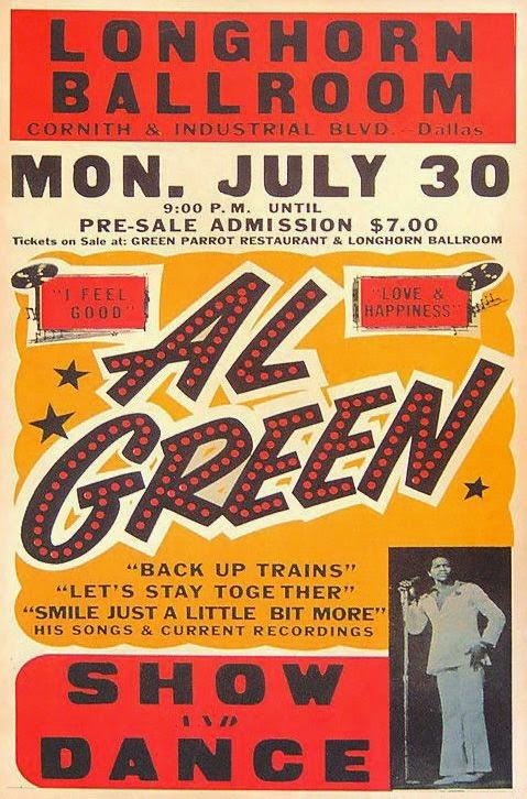 expresh letters blog  vintage soul music poster typography