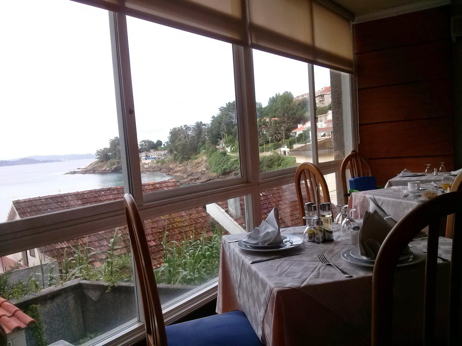hotel portonovo restaurante vistas