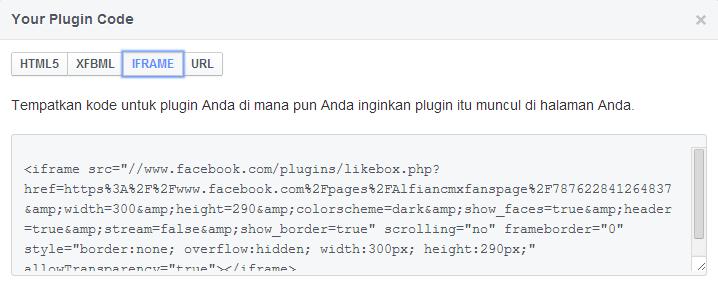Cara Pasang Widget Facebook Like Box di Blog