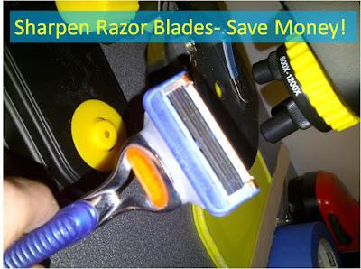 Sharpen Razor Blades, Save Money!