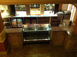 Before shot of the Cafe