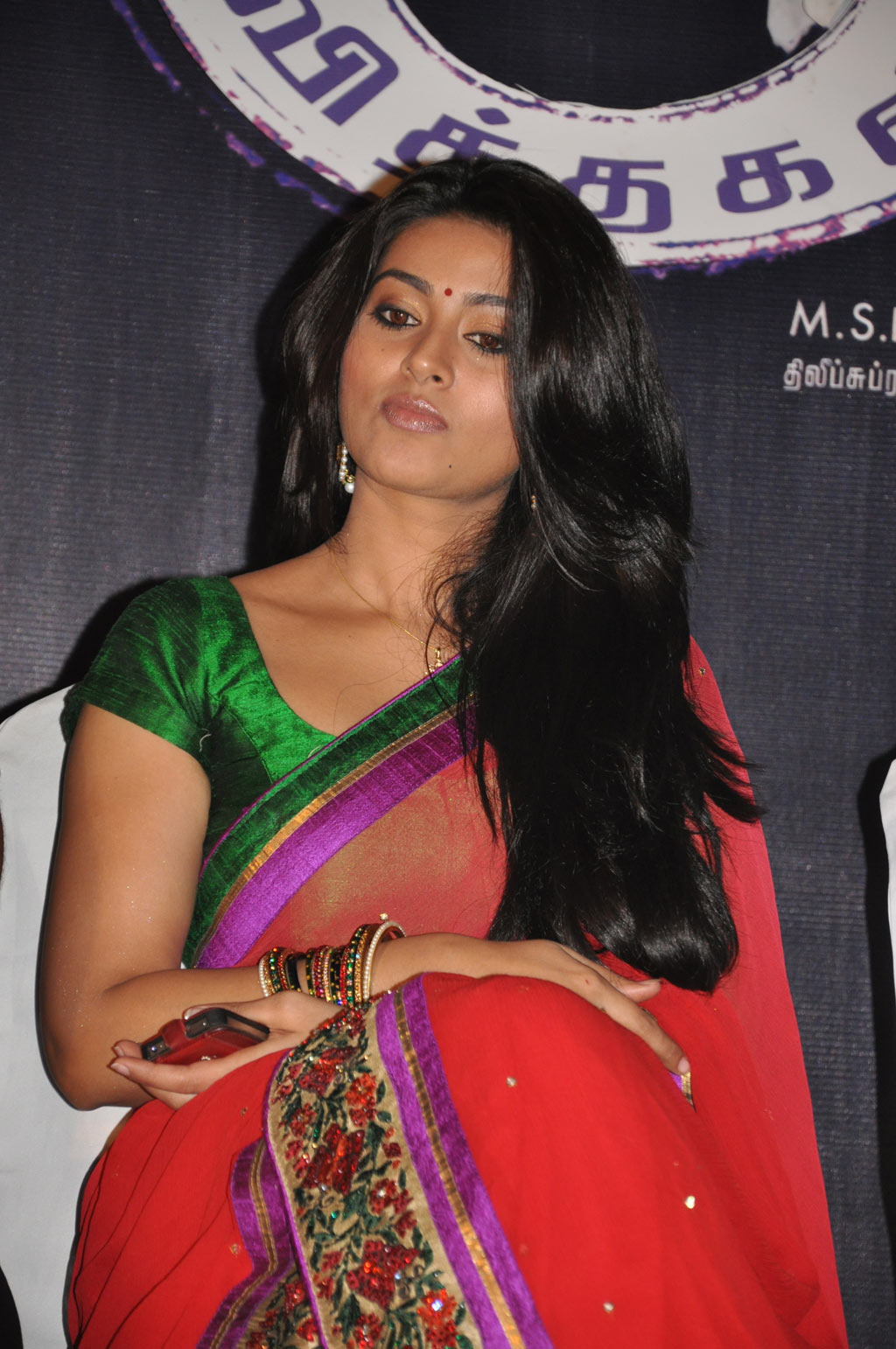 Actress Sneha Hot in Saree