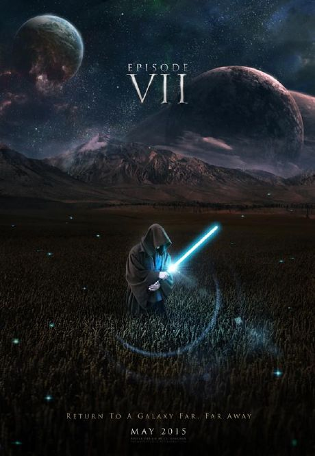 Galería posters Fan Made de Star Wars Ep. VII