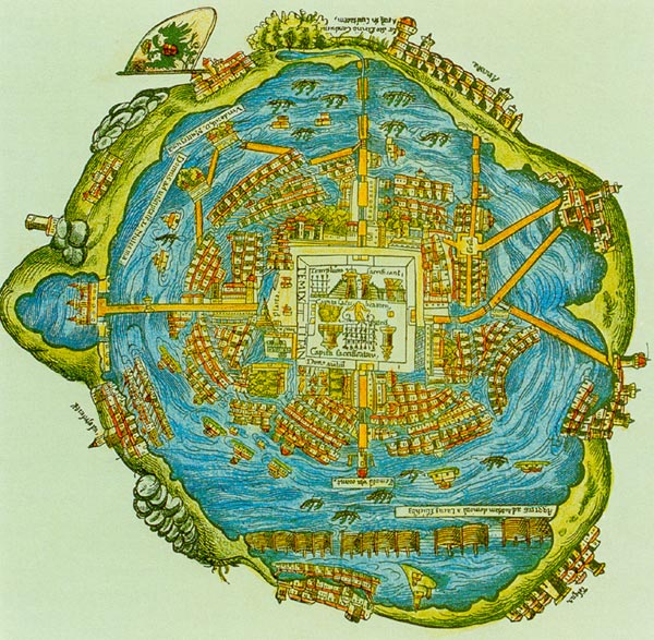 AzInMA: Some Images of Aztec City