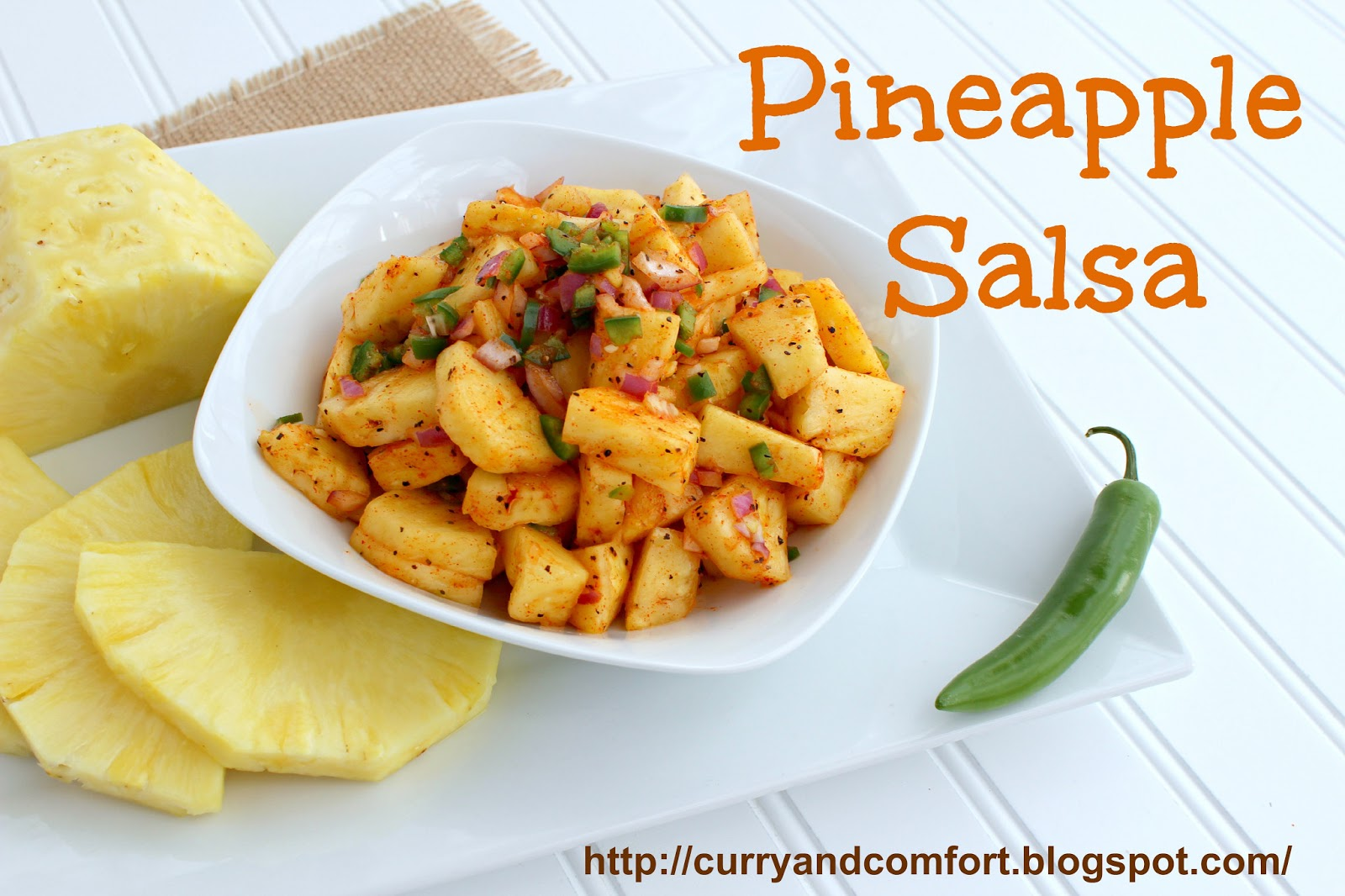 Kitchen Simmer: Spicy and Fresh Pineapple Salsa