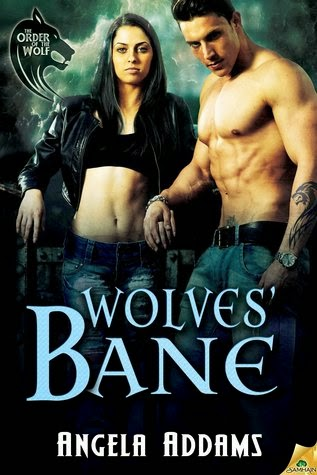 Wolves' Bane paranormal romance by angela addams book giveaway