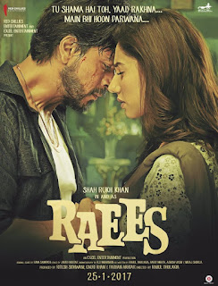 Raees 2017 Hindi Movie 720p hevc Bluray 700MB