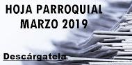 Hoja Parroquial Marzo 2019