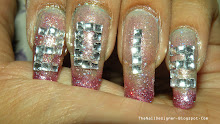 New Year Nails (Tutorial)