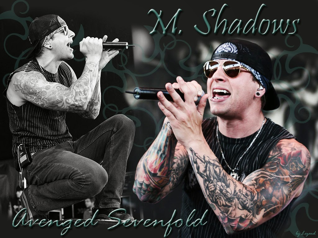 Matt Shadow Sang Rocker Avenged Sevenfold