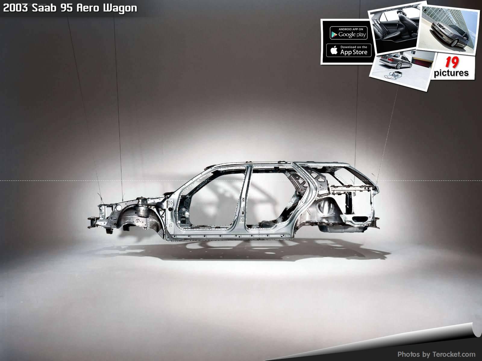 Hình ảnh xe ô tô Saab 95 Aero Wagon 2003 & nội ngoại thất