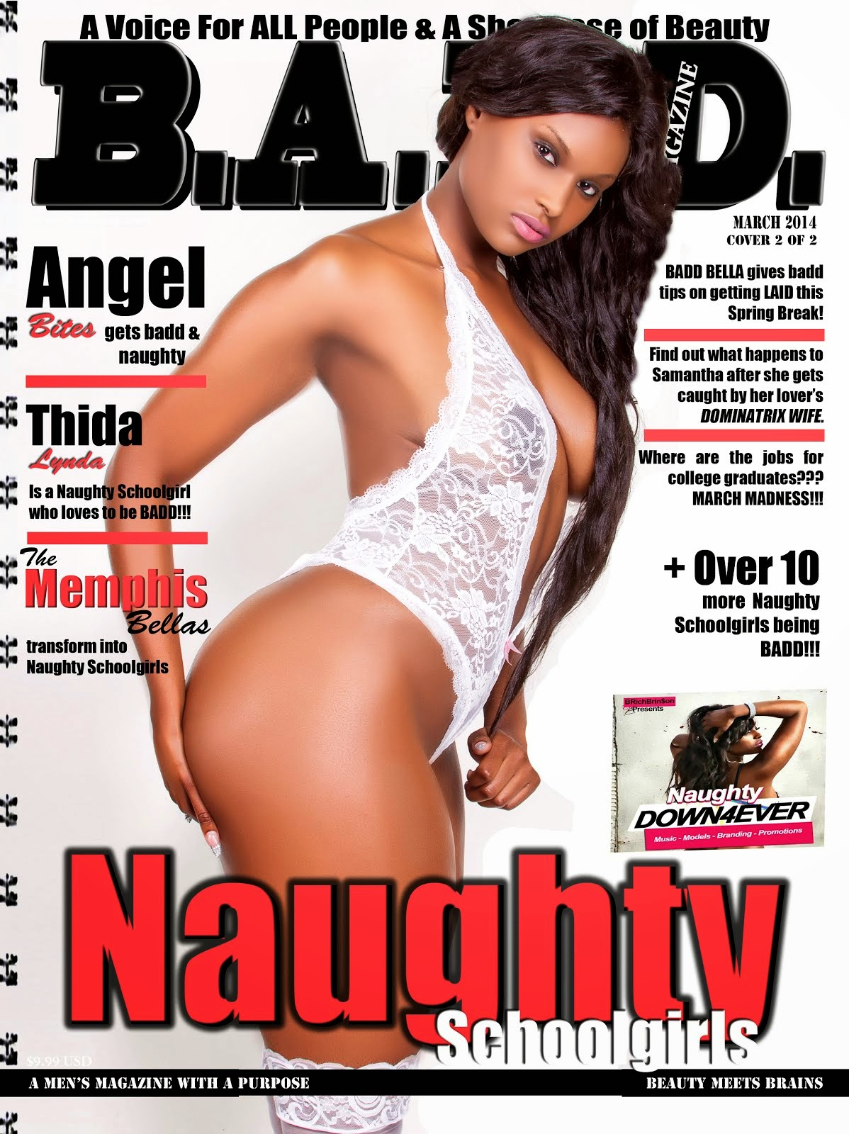 B.A.D.D Magazine/Angel Bites Cover