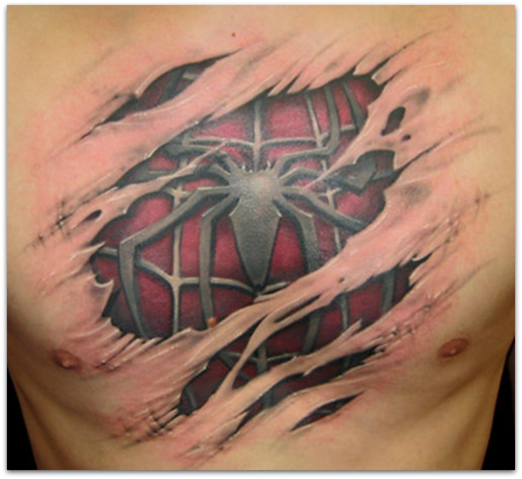 Of 3d Photos 3d Tattoos Or Simple Tattoos Have A Look Of 3d Tattoos