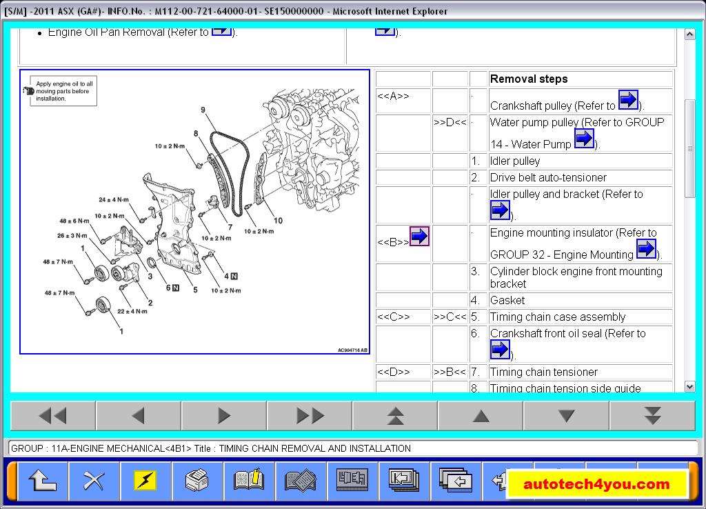 Mitsubishi Asx Service Manual  U0635 U064a U0627 U0646 U0629  U0645 U064a U062a U0633 U0648 U0628 U064a U0634 U0649