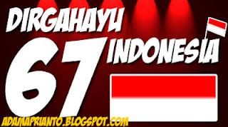 DIRGAHAYU KE-67 INDONESIA