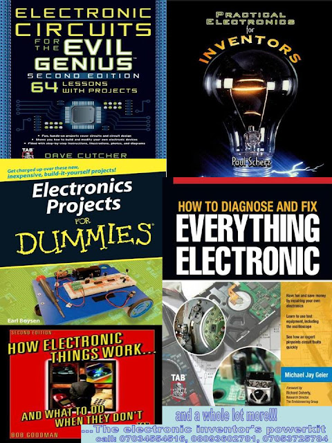Get the electronic inventors startup kit and become an electronic inventor