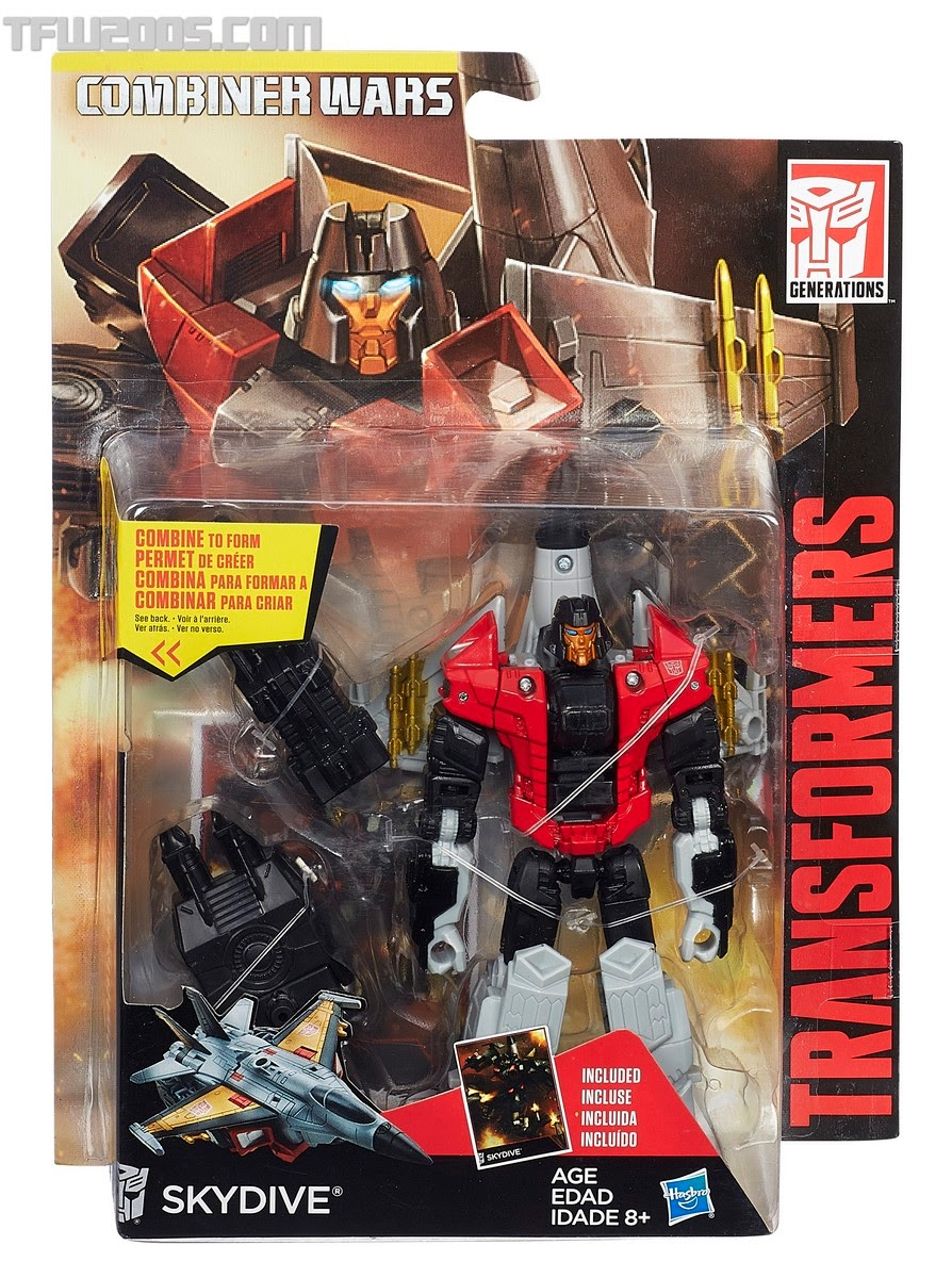 Hasbro - Transformers - The Combiner Wars - Aerialbots - Skydive