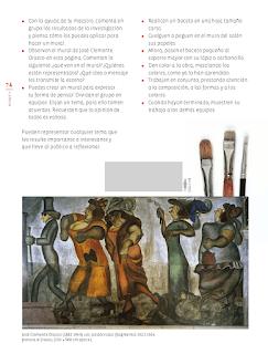 Pintar a lo grande - Educación Artística Bloque 5to 2014-2015