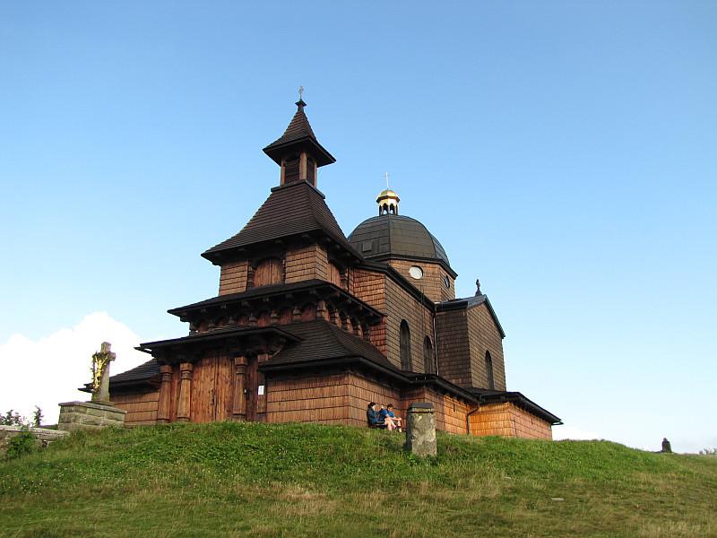 Kaplica pw. Świętych Cyryla i Metodego na szczycie Radhošťa.