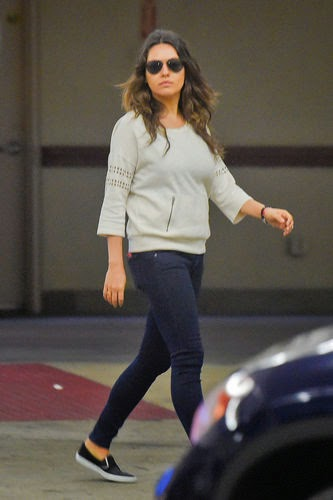 Mila Kunis shows her great body after baby