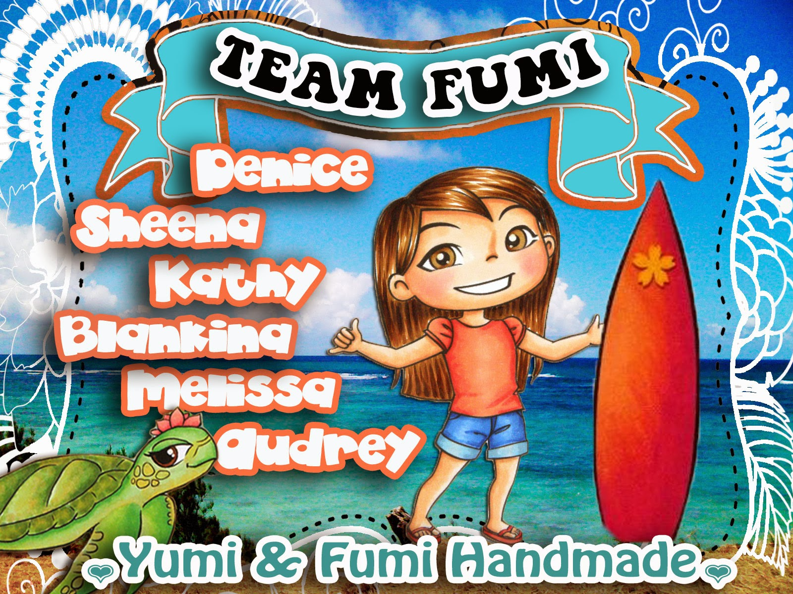 Proudly Designing for Yumi and Fumi Handmade...