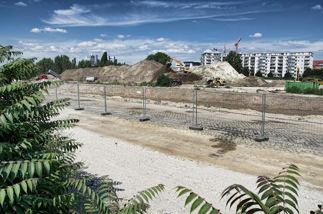 Baustelle Europacity, Entwicklungsgebiet Heidestraße, 10557 Berlin, 17.07.2013