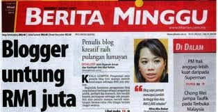 Antara Blogger Yang Berjaya, redmummy aka Mira Abu Bakar