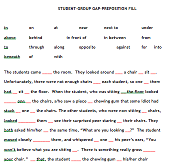 Worksheets Preposition Worksheets High School preposition of time exercises esl 5278 grammar is fun50 000 free adopt and adapt ict in elt how to make a prepositions role play
