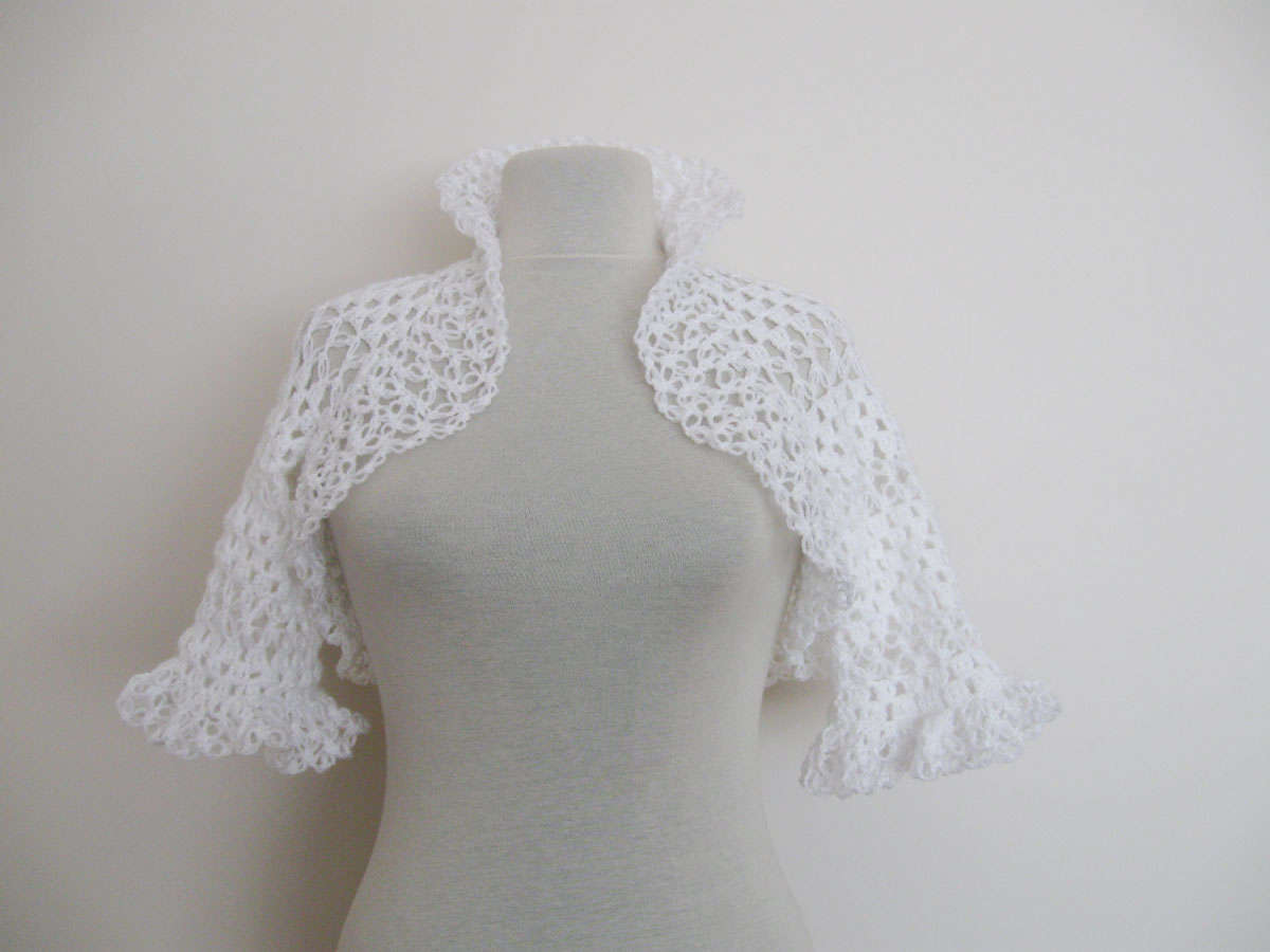 Crochet Wedding : Beading Wedding Bridal Accessories and Free pattern: Handmade crochet ...