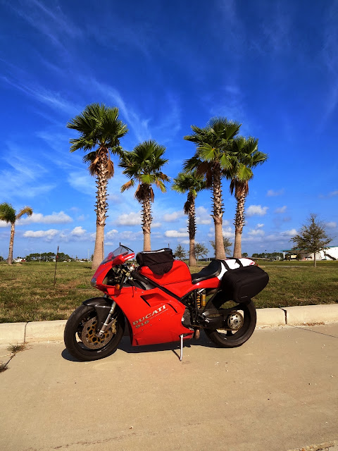 Ducati 916 Motorcycle Louisiana Coast