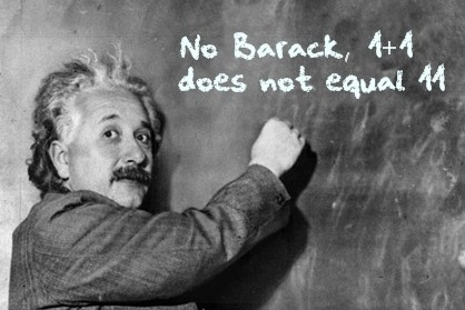 einstein hates obama 