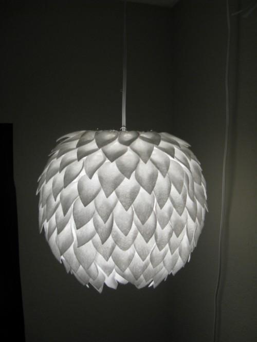 Regnbuedrops: inspirasjon diy lamper