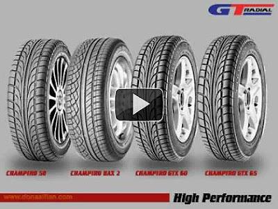 Video Ban Terbaik di Indonesia GT Radial