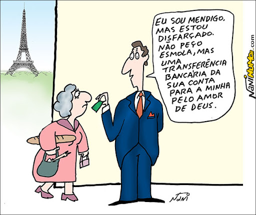 França proíbe pedir esmola na champs elisee