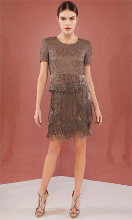 Bo.Bô coleção verão 2015 blusa cropped e saia com franjas