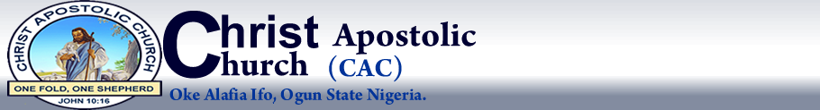 Christ Apostolic Church, Oke Alafia, Ifo Ogun State