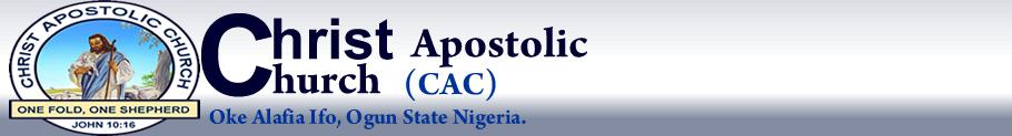 Christ Apostolic Church, Oke Alafia, Ifo Ogun State