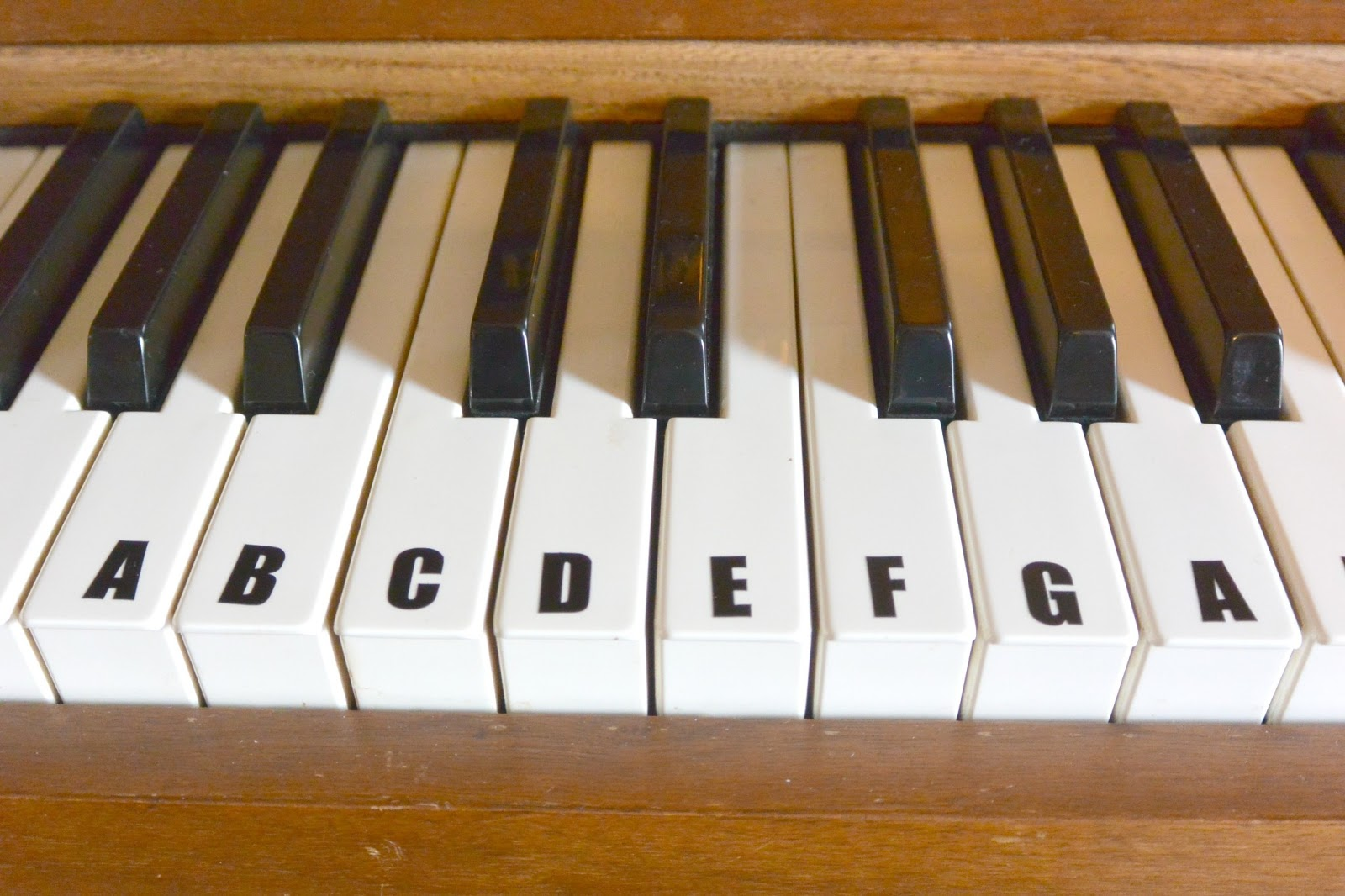 product review vinyl disorder abc piano keyboard decals With piano keyboard letter stickers