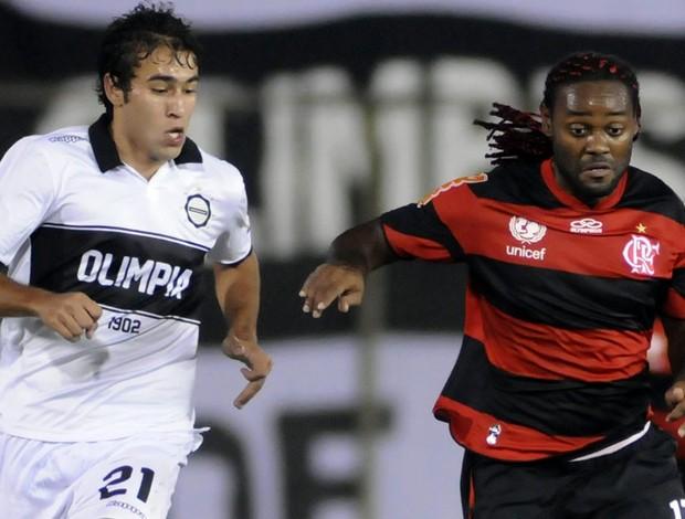 Olimpia 3 x 2 Flamengo - Libertadores 2012
