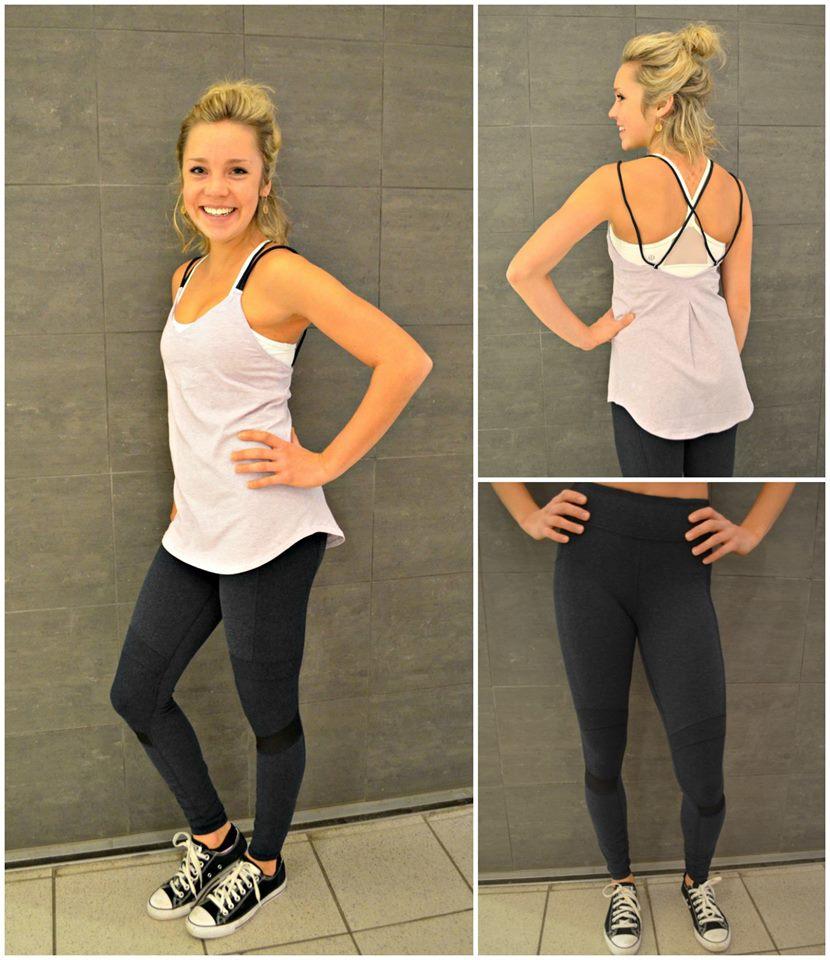lululemon motive pant breeze tank