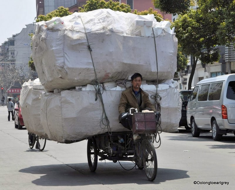 Shanghai Tricycle Load