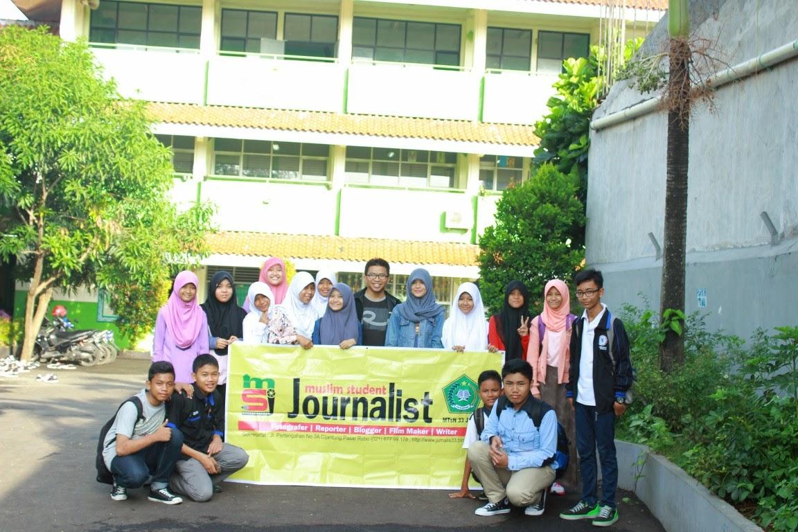 mtsn 33, jurnalis 33, madrasah, kemenag