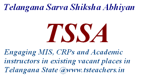 TSSA Hyderabad – Filling up of vacant posts of MIS Coordinators Data Entry Operators and Part-time Instructors on outsourcing / contract basis in the TSSA – Certain instructions issued.