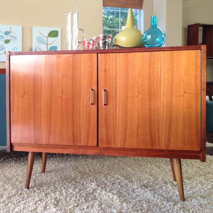 Now That's a Bar! Mid Century, Danish Bar Cabinet.