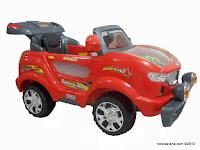 1 Mobil Mainan Aki Junior Z631 Thunder Jeep dengan Simulasi Mesin Bergetar